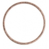 Rings Soldered Round Antique Copper